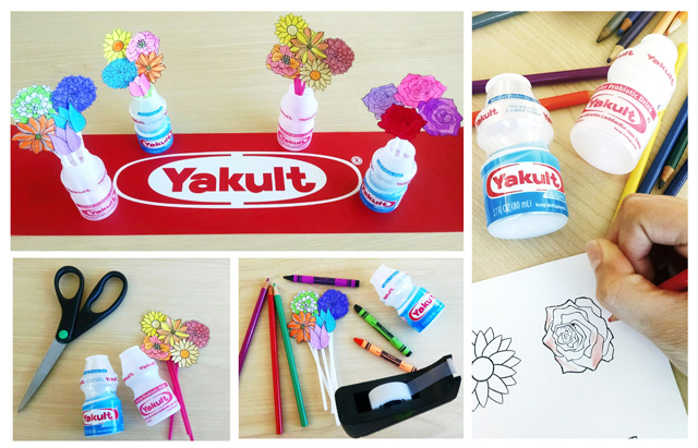 Yakult-Flowers