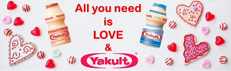 All you need is LOVE & YAKULT